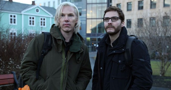 Benedict Cumberbatch in 'The Fifth Estate'