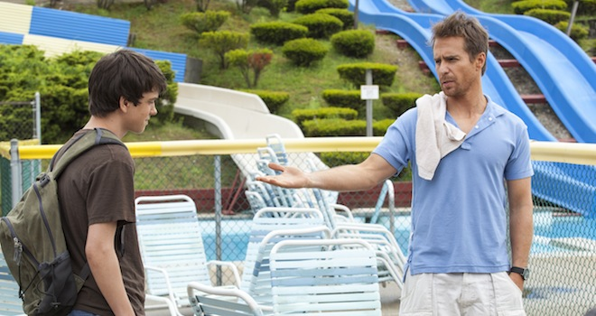 Liam James, Sam Rockwell, The Way, Way Back