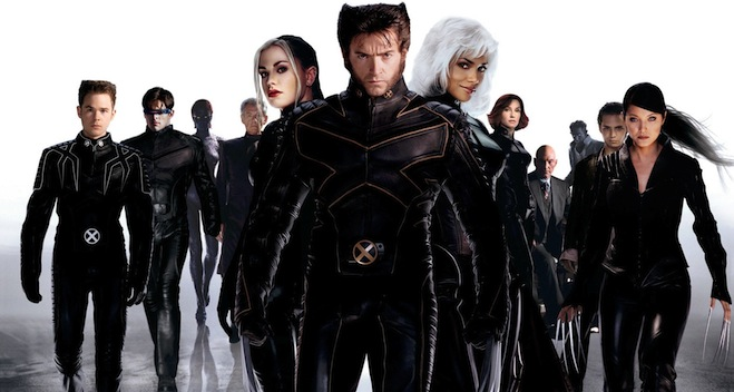 X2 movie, Hugh Jackman, Halle Berry, Anna Paquin