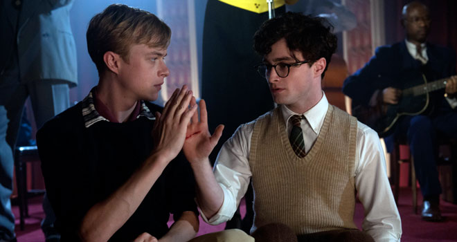 kill your darlings trailer Kill Your Darlings Clip and Photos Featuring Daniel Radcliffe and Dane DeHaan