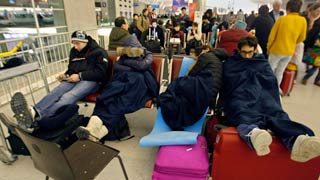 Storm Impact Continues For Air Passengers