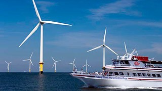 ferry wind farm cape cod