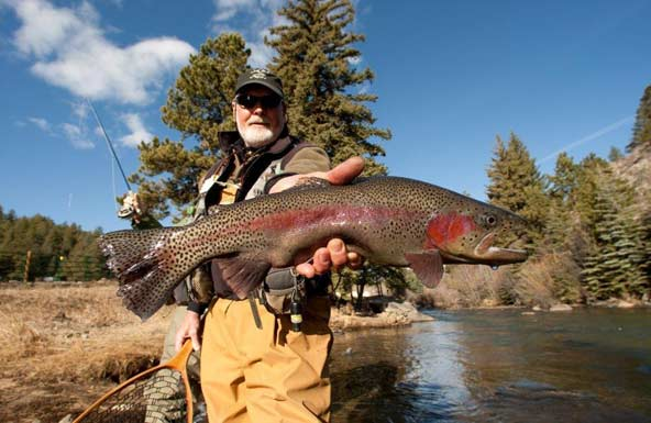 Dude ranch vacations aol travel news for Colorado fishing lodges