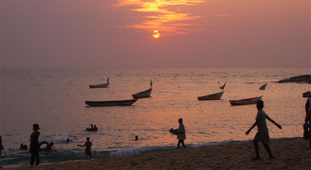 Lakka Beach, near Freetown, Sierra Leone