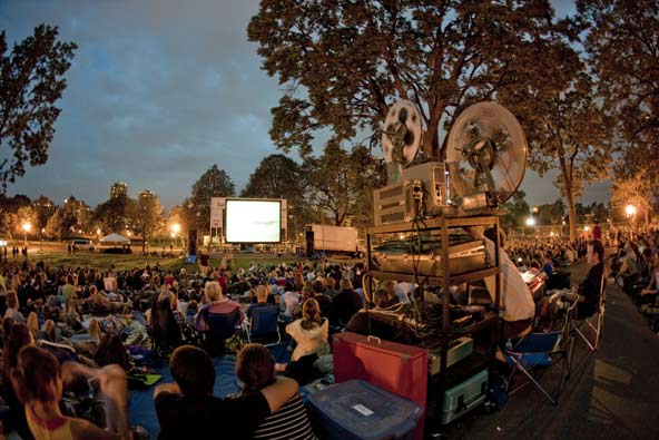 travel outdoor movies cinema theatre events summer