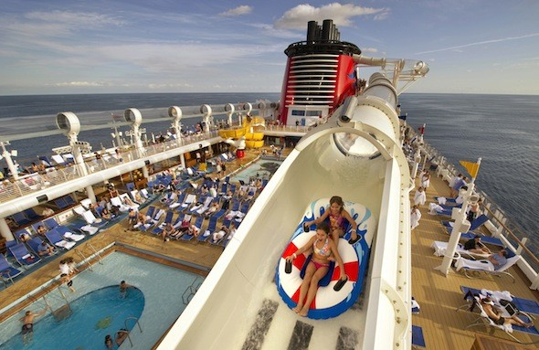 2013 Cruises, AquaDuck, Disney Cruises