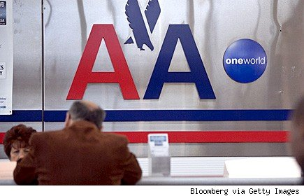 American Airlines checkin counter