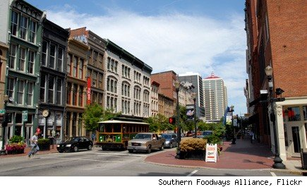 Louisville downtown street