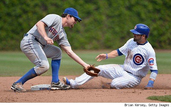 Cubs Mets third base