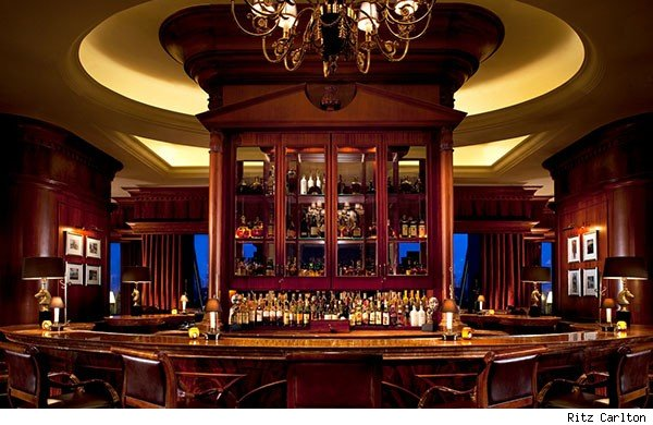 Churchill Bar Ritz Carlton Beijing