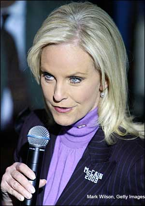 cindy mccain feet. That would be quot;Cindy McCain