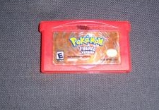 a fake - Pokemon FireRed Pokemon Fire Red Cartridge Label