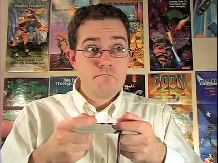 avgn interview kd 1 20081126 Top 5 old school games you LOVED, but were ashamed to admit