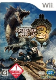 Monster Hunter 3 is Japan's best selling 3rd party Wii game