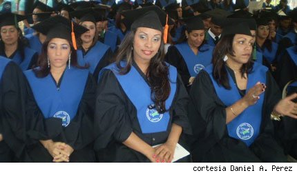Mujeres ttulo universitario