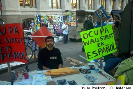 wall street latinos protestas