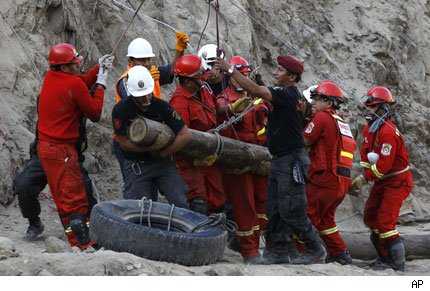 peru rescate mineros