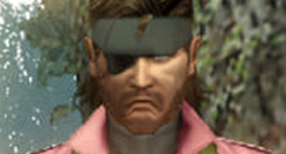 Snake tries on a new outfit for MGS: Peace Walker DLC