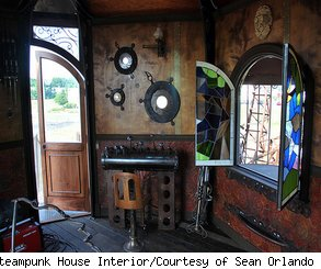 sean orlando, steampunk tree house