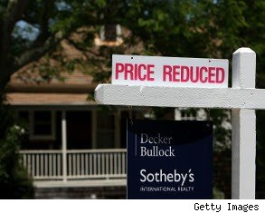 property taxes rise, home values decline