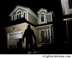 home security compromised by burglar