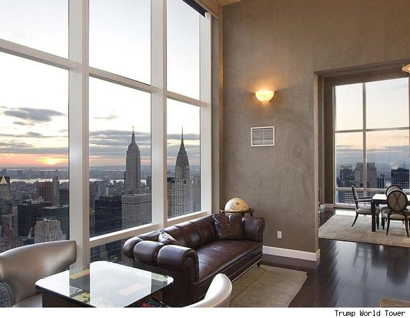 derek jeter mansion pics. Derek Jeter#39;s Manhattan Co-Op