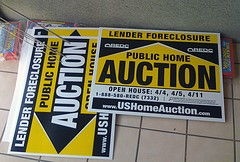 foreclosures fall