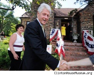 Bill Clinton boyhood home