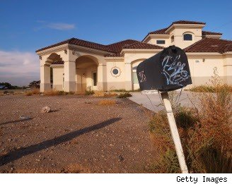 Foreclosure ghost town