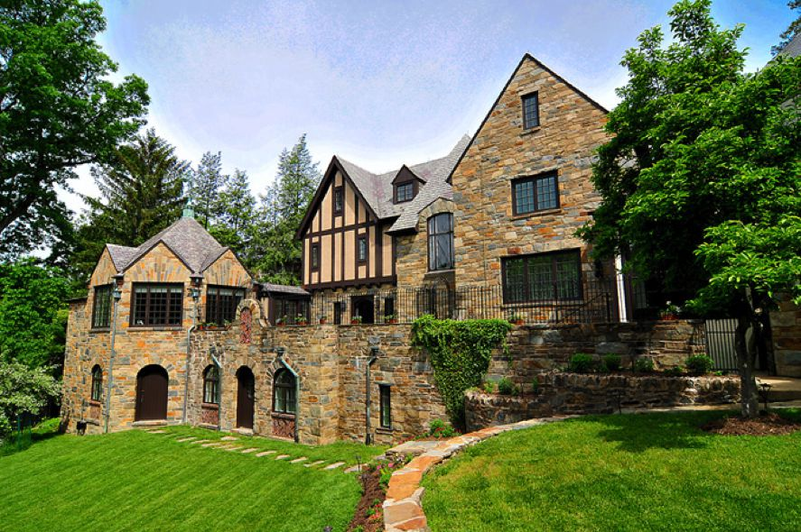 16 artistic tudor style mansions architecture plans 82135