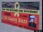 HOA Sues Marine's Family for Banner in Support of Son
