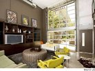 Patricia Heaton's Industrial-Chic Condo For Sale, Again