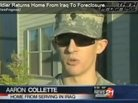 Bank Forecloses on Returning Iraq Soldier's Home
