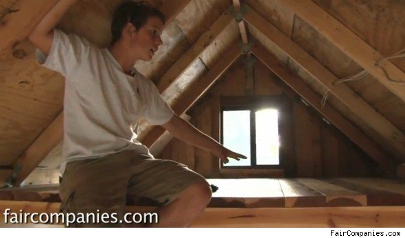 teenager builds house for college