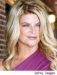 Kirstie Alley lists Maine home