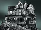 Artist Constructs Victorian House of Legos