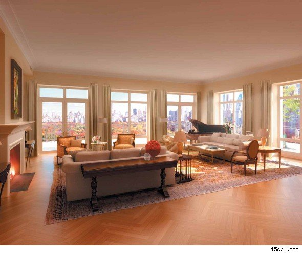 Former citigroup ceo sandy weill 39 s central park penthouse for Central park penthouses for sale