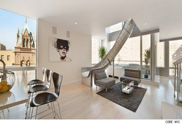 House Of The Day Nyc Penthouse Doubles As Playhouse