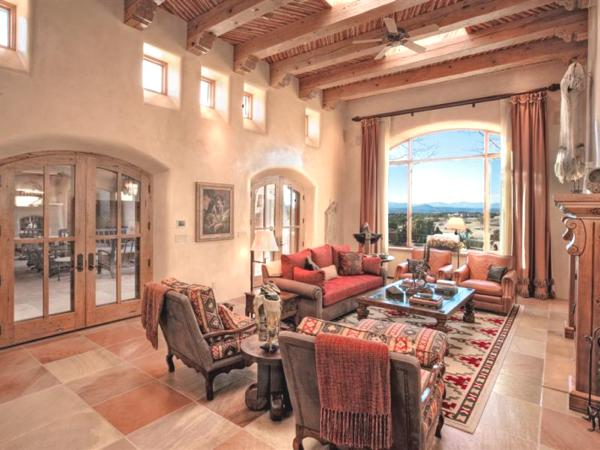 House of the day au naturel in santa fe for Santa fe style homes