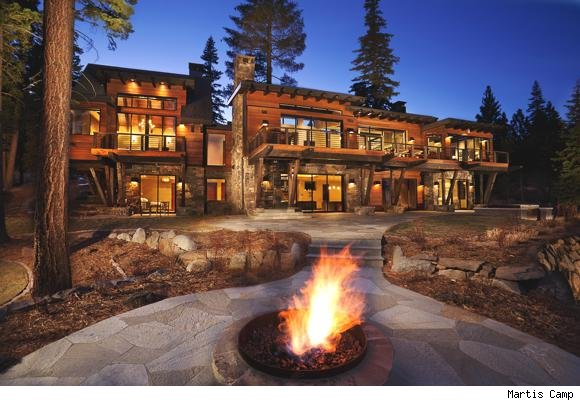 House Of The Day Luxury By Lake Tahoe
