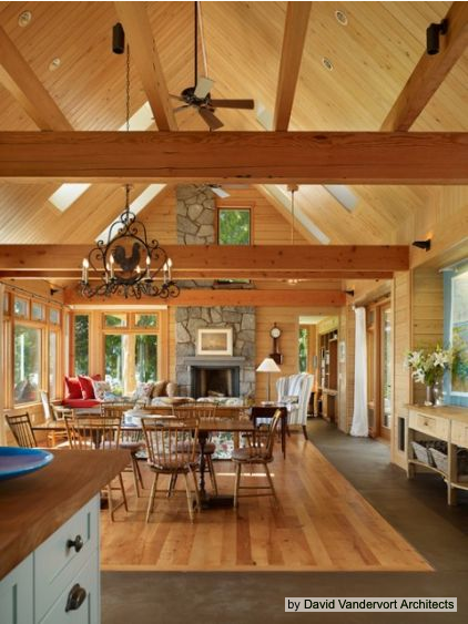 Cape cod house style spotlight for Floor plans vaulted ceilings