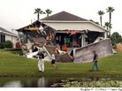 Sinkhole Swallows Half of Florida Woman's Home
