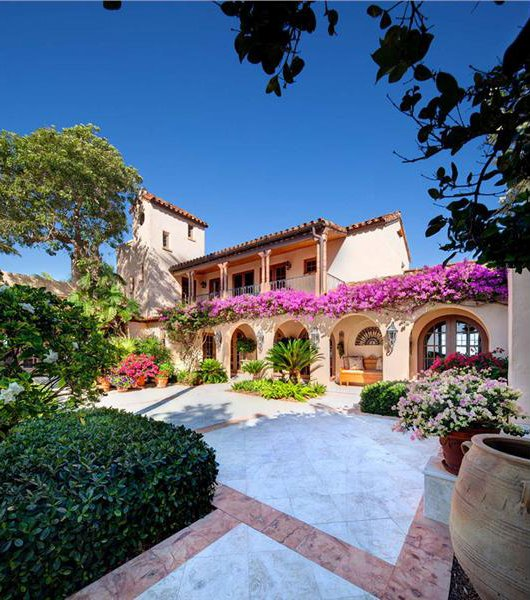 House of the day florida island paradise for Spanish villa house