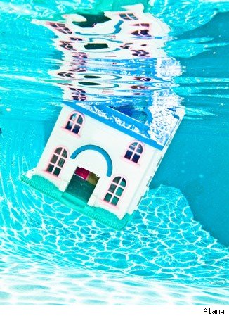 underwater home mortgages
