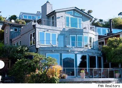 house of the day tiburon san francisco bay