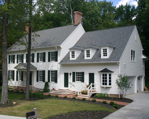 Colonial house style spotlight for Colonial home styles guide