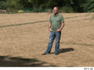 Rob Olson of Lake Elmo, Minn., Destroys His Entire Lawn With Weed Killer
