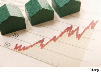 home values rise