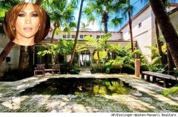 Jennifer Lopez Miami Beach home