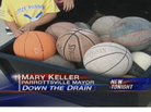 Town of Parrottsville, Tenn., Finds 27 Basketballs, Other Sports Gear Clogging Drain